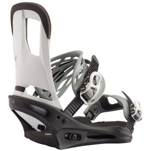BURTON Men's Cartel Re:Flex Snowboard Binding - 2020, Black / White