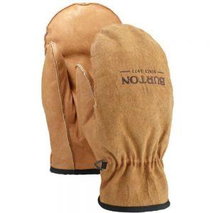 BURTON Men's Work Horse Leather Mitten, Raw Hide