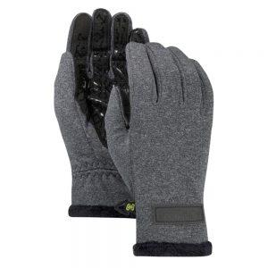 BURTON Women's Sapphire Glove, True Black Heather