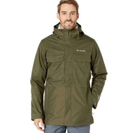 COLUMBIA Men's Cushman Crest Interchange Insulated Jacket