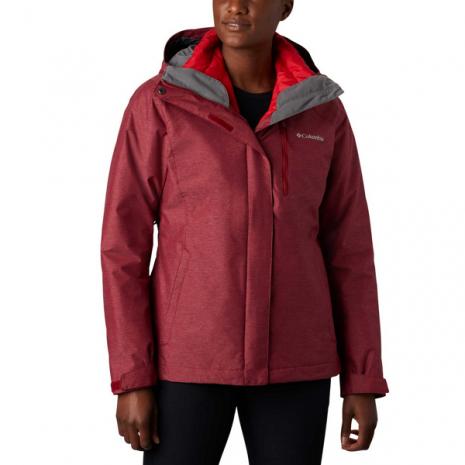 COLUMBIA Women's Whirlibird IV Interchange Jacket, Beet Crossdye 1