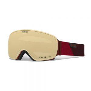 GIRO Men's Agent Snow Goggle, Red Peak Copper 1