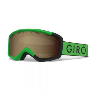 GIRO Kid's Grade Snow Goggle, Bright Green Black Zoom 1
