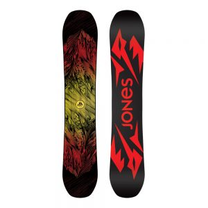 JONES SNOWBOARDS Men's Mountain Twin Snowboard - 2020