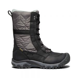 KEEN Women's Hoodoo III Tall Winter Boot, Black Magnet 1