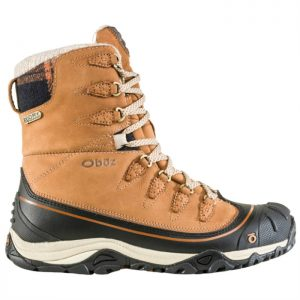 "OBOZ Women's Sapphire 8"" Insulated Boot - Waterproof, Tan 1"