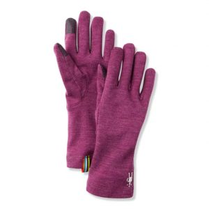 Smartwool Merino 250 Glove Sangria Heather