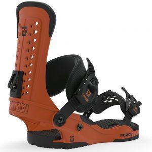 UNION BINDINGS Men's Force Snowboard Binding - 2020, Burnt Orange