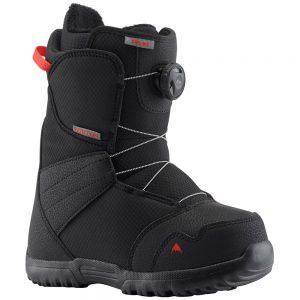BURTON Kid's Zipline Boa Snowboard Boot - 2020, Black