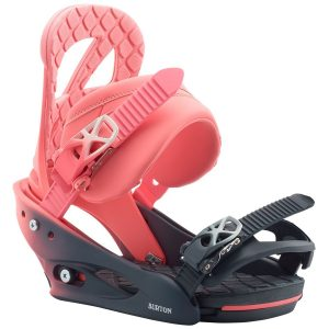 BURTON Women's Stiletto Re:Flex Snowboard Binding – 2020, Pink Fade