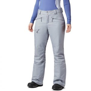 COLUMBIA Women's Wildside Snow Pant, Tradewinds Grey Heather 1