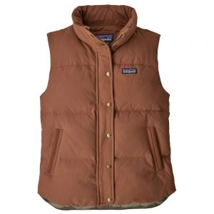PATAGONIA Women's Bivy Down Vest, Sisu Brown