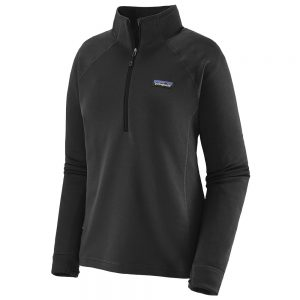 PATAGONIA Women's Crosstrek 1/4 Zip Fleece, Black