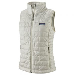 PATAGONIA Women's Nano Puff Vest, Birch White