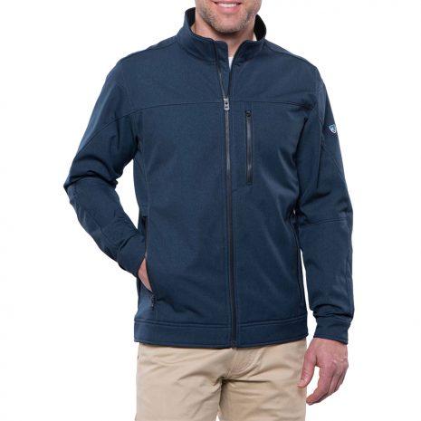 KUHL Men's Impakt Soft Shell Jacket, Pirate Blue