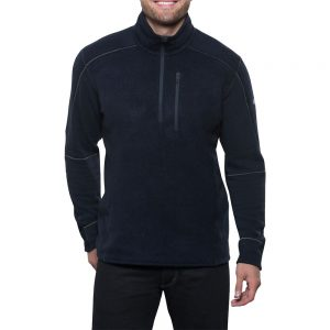 KUHL Men's Interceptr 1/4 Zip Fleece, Mutiny Blue
