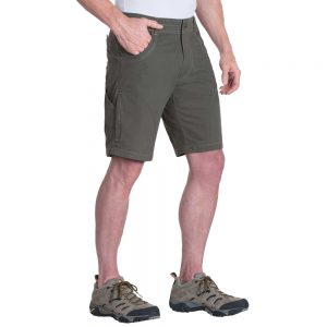 KUHL Men's Ramblr Shorts, Gun Metal