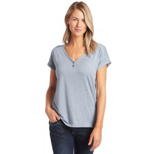 KUHL Women's Lisette Short-Sleeved Shirt, Overcast