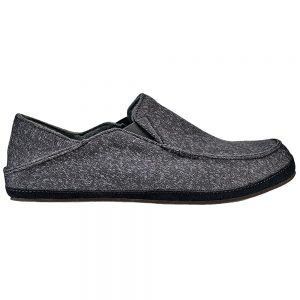 OLUKAI Men's Moloa Hulu Slippers, Dark Shadow