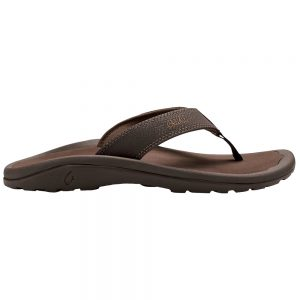 OLUKAI Men's Ohana Sandals, Dark Java Ray