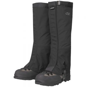 OUTDOOR RESEARCH Men's Crocodile Gaiters, Black