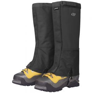 OUTDOOR RESEARCH Mens' Expedition Crocodile Gaiters, Black