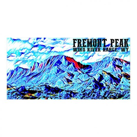 Artist Series Fremont Peak Poster