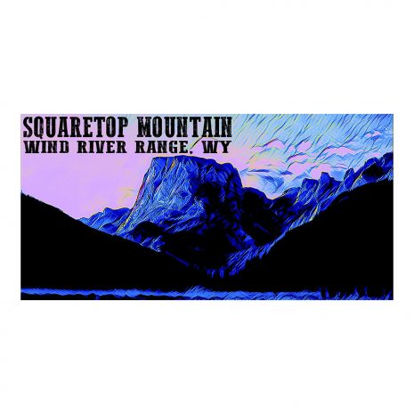 Artist Series Squaretop Mountain Poster