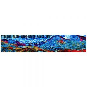 Artist Series Titcomb Basin Poster