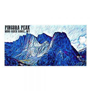 Artist Series Pingora Peak Poster