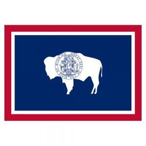 Wyoming Flag Sticker