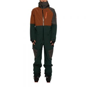 686 Hydra Coverall Dark Spruce Colorblock