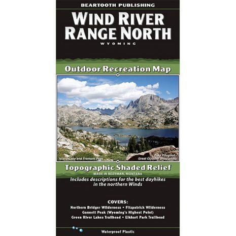 Wind River Range North Map