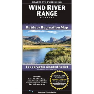 Beartooth Publishing Wind River Range Map