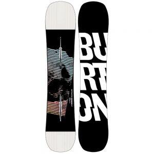 BURTON Men's Instigator Flat Top Snowboard - 2021