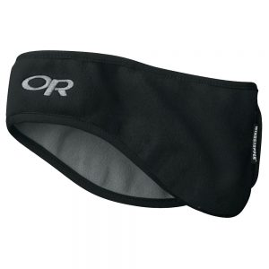 OUTDOOR RESEARCH Gore-Tex Infinium Windstopper Ear Band, Black