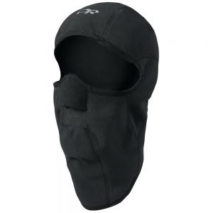 OUTDOOR RESEARCH Gore-Tex Infinium Windstopper Sonic Balaclava, Black