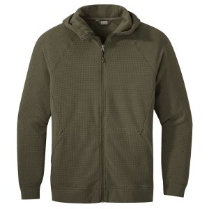 OUTDOOR RESEARCH Men's Trail Mix Hoodie, Fatigue