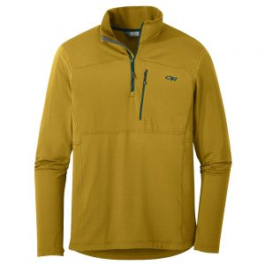 OUTDOOR RESEARCH Men's Vigor Quarter Zip, Lichen