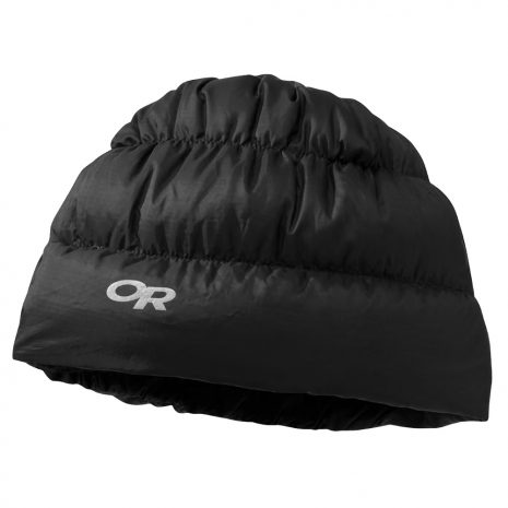 OUTDOOR RESEARCH Transcendent Down Beanie, Black