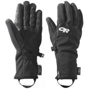 OUTDOOR RESEARCH Women's Gore-Tex Infinium Stormtracker Sensor Gloves, Black