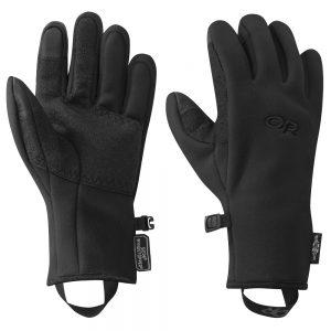 OUTDOOR RESEARCH Women's Gore-Tex Infinium Windstopper Gripper Sensor Gloves, Black