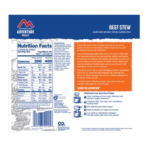 MOUNTAIN HOUSE Beef Stew Freeze-Dried Meal