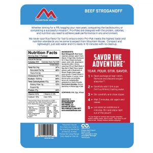 MOUNTAIN HOUSE Beef Stroganoff Pro-Pak Freeze-Dried Meal