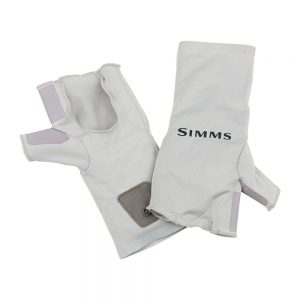 Simms SolarFlex Sungloves Sterling