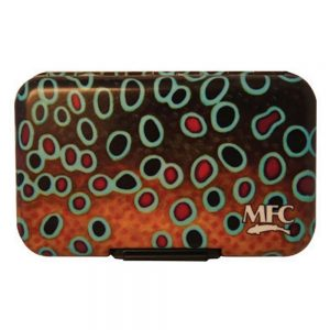 MFC Poly Fly Box Brown Trout XL Skin