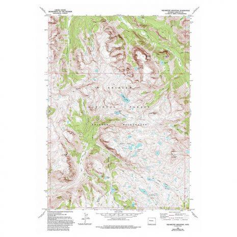 USGS Sweetwater Gap 7.5 Topo Map
