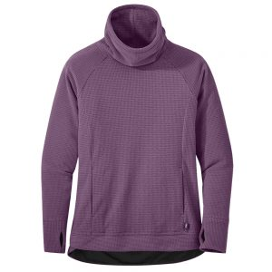 OUTDOOR RESEARCH Women's Trail Mix Cowl Pullover, Vintage Violet