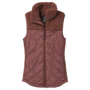 PRANA Women's Esla Vest, Flannel