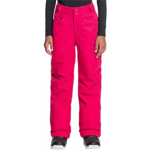 ROXY Girls' Backyard Insulated Snow Pants, Jazzy Pink